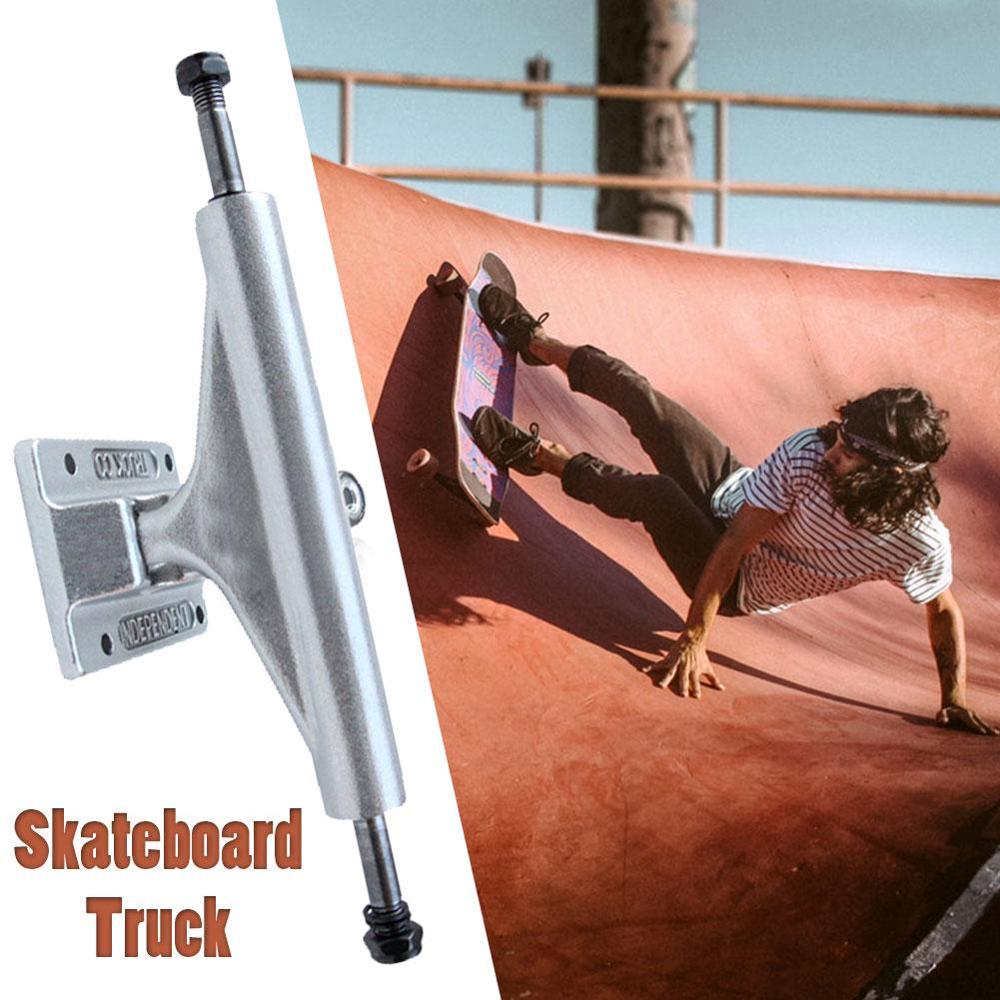 Pro 139mm Aluminum Magnesium Alloy 2Pcs 5.5 Inch Adult Skateboard Truck Bracket Parts