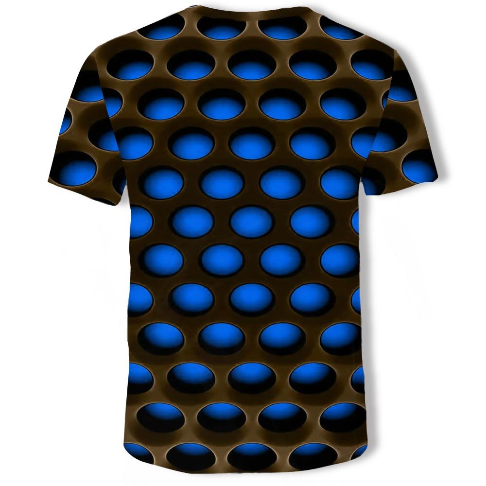 Men/'s 3D Printed Tee Cotton Mens T-Shirts Short Sleeve Shirt Tops Jersey