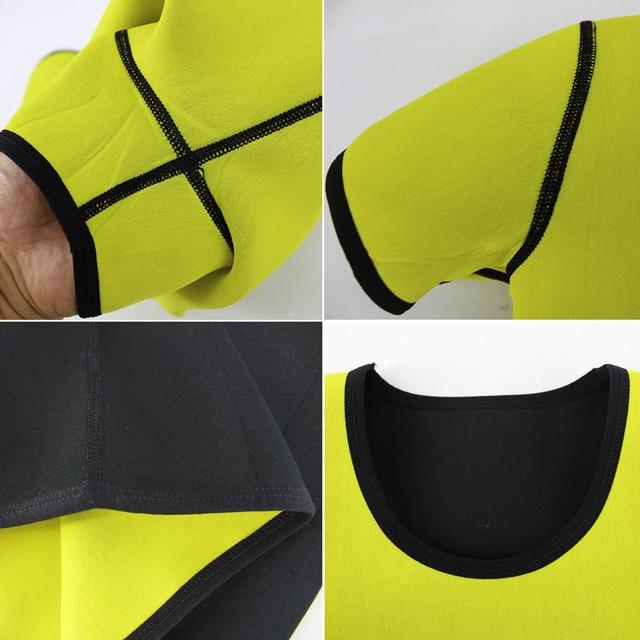 Slimming Sweat Sauna T-shirt Women Body Shapers Short Sleeve Waist Trainer Shapewear Weight Loss Corset Fitness Fat Burning Vest