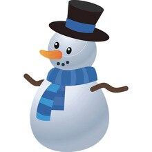 Christmas Snowman Dies Metal Cutting Dies New 2019 Dies Scrapbooking New Arrivals DIY Die Cuts Background Craft diy christmas snowman pattern cutting die