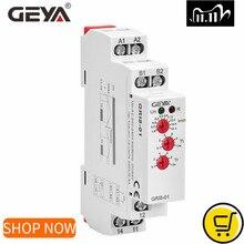 GEYA GRI8 01 monitorowanie prądu przekaźnik zakres prądu 8A 16A AC24V 240V przekaźnik nadprądowy DC24V
