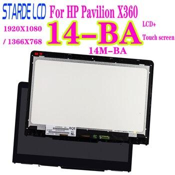 14.6'' IPS for HP Pavilion X360 14-BA 14M-BA Series LCD Display Touch Screen Digitizer Assembly B140XTN02.E N140HCE-EBA