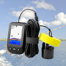 Портативный эхолот рыболокатор качественный Улучшенный с сигнализацией