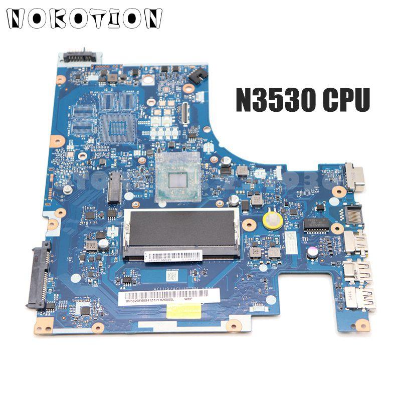Материнская плата NOKOTION ACLU9/ACLU0 NM-A311 для Lenovo G50, материнская плата для ноутбука DDR3 с ЦП N3530