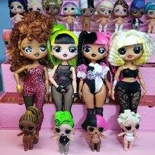 Оригинальная новая кукла-сюрприз REMIX LOL, серия OMG Fashion Big Sister, можно выбрать игрушки для девочек