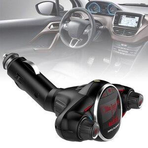 Dual-USB Bluetooth Car Kits FM