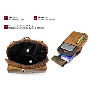 Image 3 - MVA Genuine Leather Mens Shoulder Bags For Men Crossbody Bags Male Messenger Bag Men Leather Handbag Phone Bags Mens Small 899