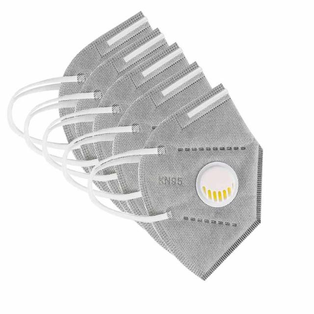5/10/20/50 Pcs Disposable Respirator Dust Filter n95 Mask Face Mouth white Black protective gray respirators KN95 FFP2 mascarill 1