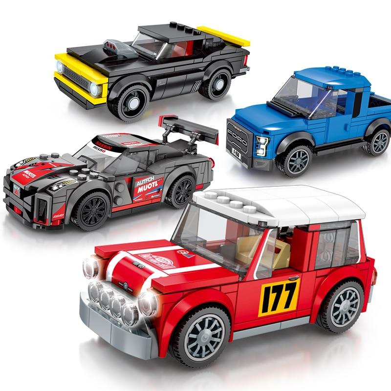 Compatible Technic Super Speed Champions City Sport Car F1 Racing Car Building Blocks Racing Sets Model Bricks Boy Gift Kids Toy
