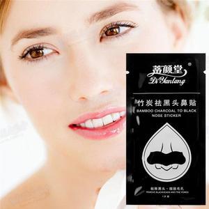 1/10pcs Bamboo Charcoal Blackhead Remover Black Dots Clean Nose Acne Sticker Deep Nose Spots Strips Pore Cleaner Treatment Z4B5