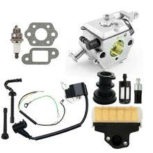 Carburateur Kit Remplacement Accessoires Pièces Pour Stihl 021 023 025 MS210 MS230 MS250 MS210C MS230C MS250C Tronçonneuse Moteur