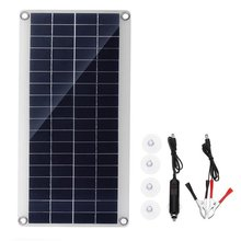 Flexible Solar Panel 25W Polysilicon Panel Solar Cells Cell Module DC for Car Yacht Light RV 12V Battery Boat 5V Outdoor Charger 30w 20w 18v flexible solar panel panels solar cells cell module dc for car yacht led light rv 12v battery boat outdoor charger