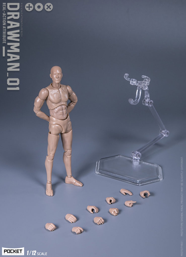 DAMTOYS DPS02  1//12 Scale Crash Test Dummy Testman  Movable Action Figure
