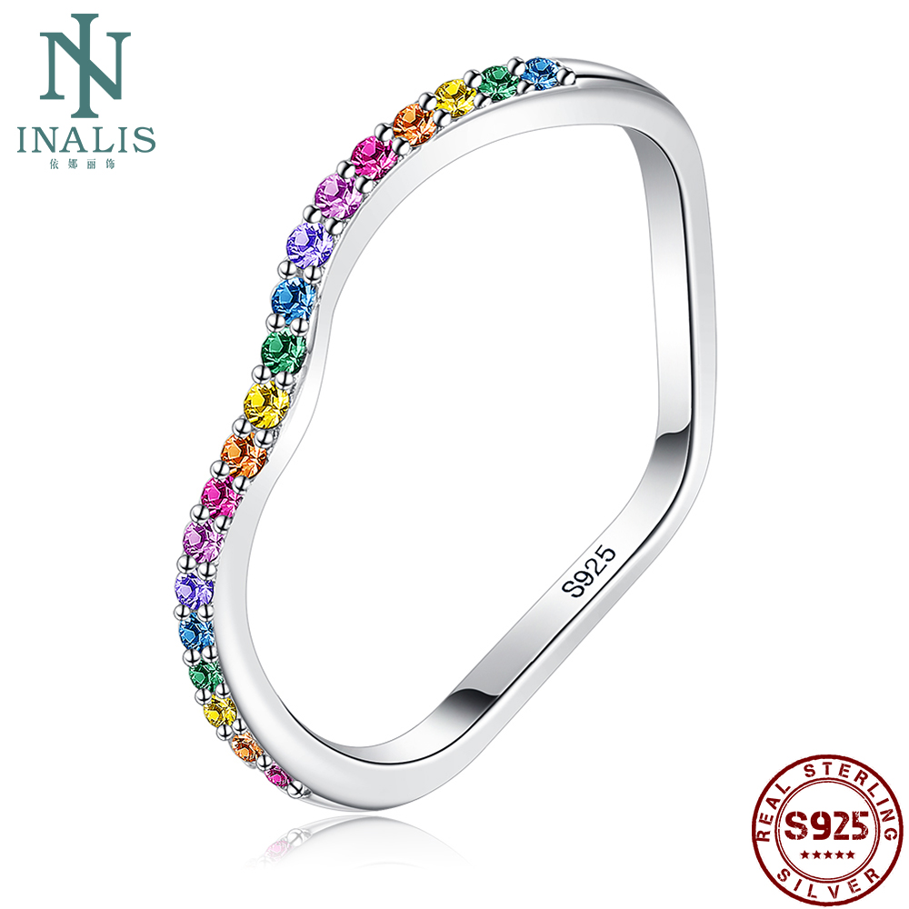 INALIS Love Heart Shaped Vintage Ring S925 Sterling Silver High-End Ring For Women Fine Jewelry Best Selling Valentine Day Gifts