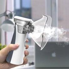 BOXYM Portable Handheld Nebulizer Mini Inhaler Nebulizer For Kids Adult Atomizer Nebulizador Medical Equipment Bronchus Asthma недорого