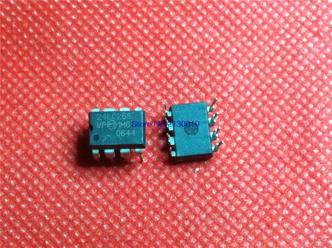 5pcs/lot PIC24LC256-I/P 24LC256 24LC256I/P DIP-8 In Stock
