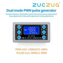 ZK PP1K PWM módulo ajustable de ciclo de trabajo de frecuencia de pulso onda cuadrada rectangular generador de función de señalización de onda
