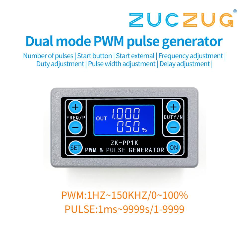 ZK-PP1K PWM Pulse Frequency Duty Cycle Adjustable Module Square Wave Rectangular Wave Signal Function Generator