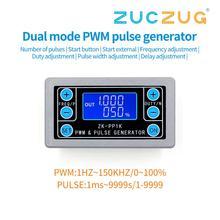 ZK PP1K pwm pulso freqüência ciclo de trabalho módulo ajustável onda quadrada retangular função de sinal gerador