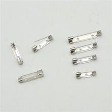 Wysokiej jakości agrafka broszka baza powrót Bar pokrowiec na karty broszka przypinki komponenty do biżuterii DIY tanie tanio 100-499 Sztuk 15 21 24 30mm