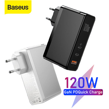 120W GaN Charger Quick Charge for MacBook Pro Fast Charging