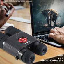 NEW 5-20X High Definition and Resolution Infrared Laser Night Vision Camera Video Hunting Monocular Telecope