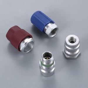 Image 3 - R12 R22 à R134a Kit de pièces de Conversion adaptateurs droits avec Service de base de Valve