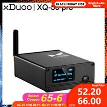 XDUOO XQ 50 Pro XQ 50 ES9018K2M USB DAC Buletooth 5.0 오디오 수신기 변환기 aptX/SBC/AAC 지원 DAC AMP