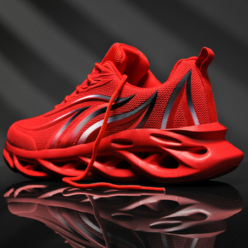 Suola In Gomma Casual Maglia Scarpe Vulcanizzate Sneakers Da Tennis di Grande Formato Bianco di Pallacanestro Runningg Scarpe Zapatillas 1