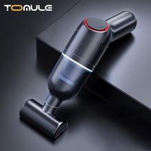 TOMULE odkurzacz samochodowy nowa aktualizacja bezprzewodowe ładowanie potężny mini high-power 8000Pa ssania ręczny używany w domach i samochodach