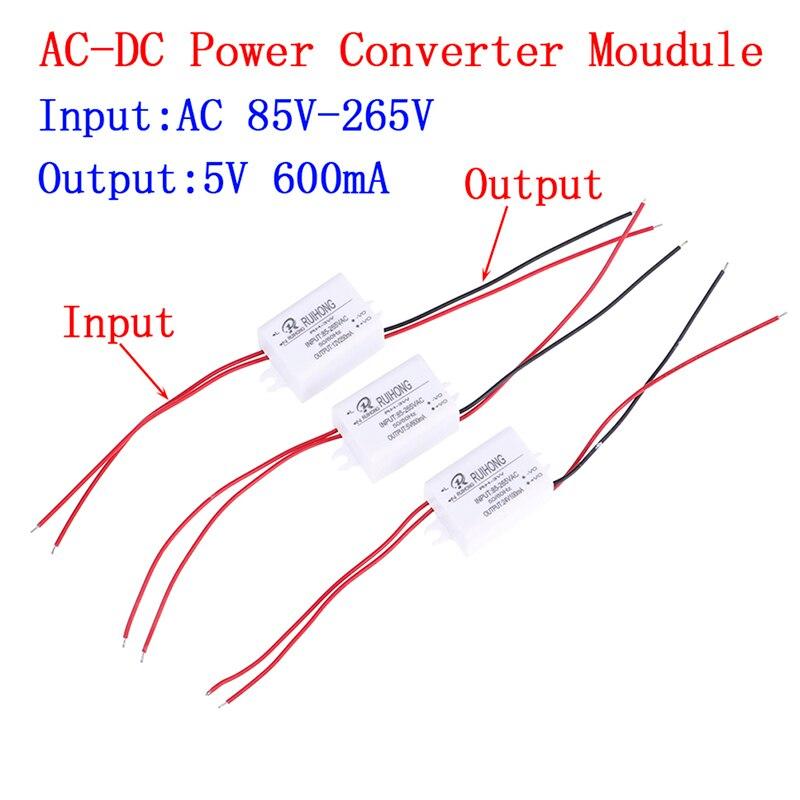 1 шт. AC-DC Питание модуль AC110V 220V 230V DC/DC 3,3 V 5V 12V 24V Мини понижающий преобразователь