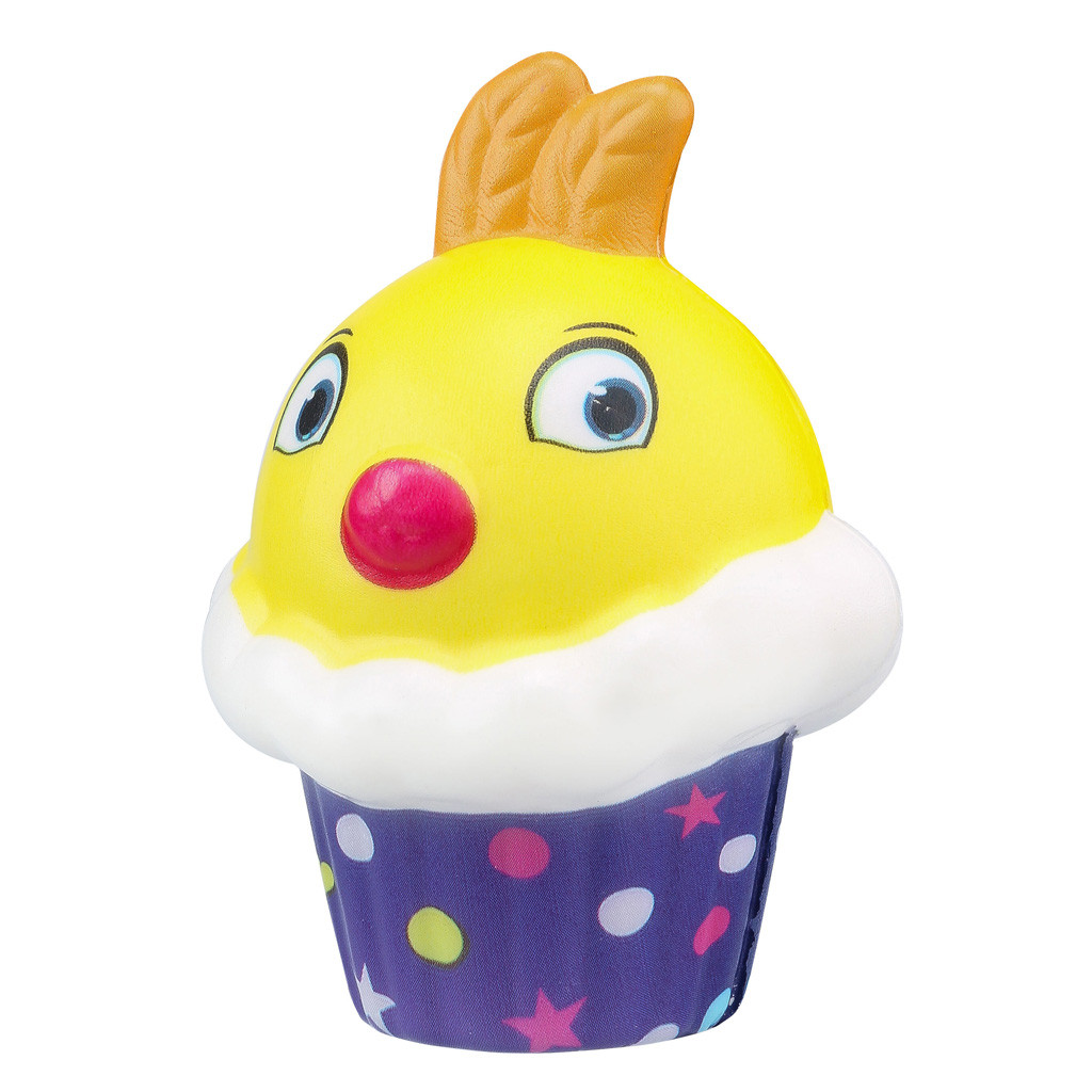 Slow Rebound Ice Cream Chick Cake Pinch Pu Simulation Decompression Crafts Toy Adorable Chicken Scented Stress Toys L102