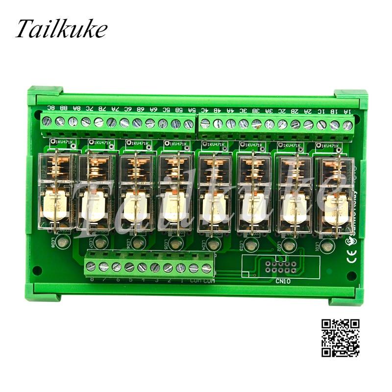 8-way Relay Module SANWO RELAY Combined PLC DC Amplifier TKG2R-1E-K824