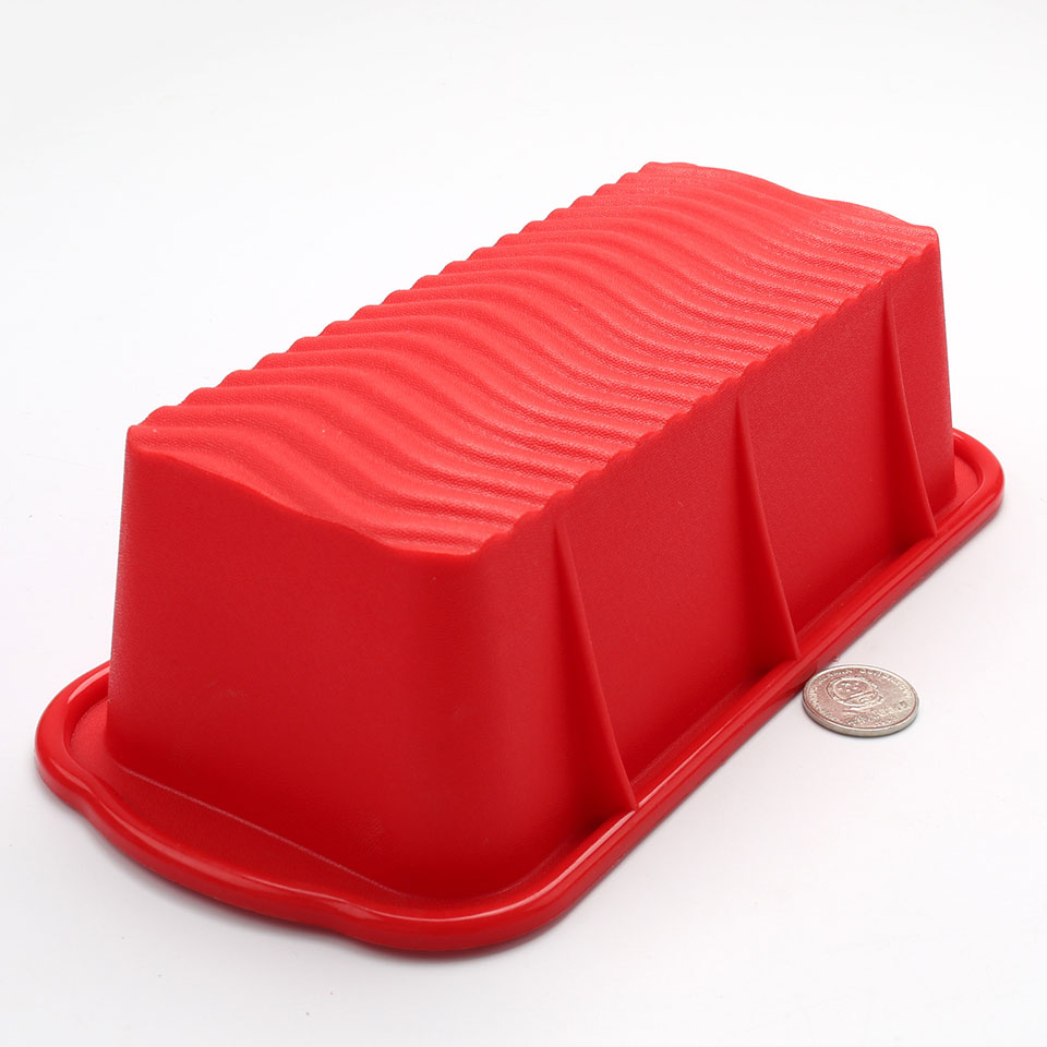 Toast Bread Mold Rectangle Shaped Silicone Cake Mold Loaf Pastry Baking Bakeware DIY Cake Non Stick Pan Baking