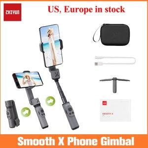 Image 1 - Zhiyun Smooth X ręczny stabilizator do iphonea 11 Xs Max Xr X 8 Plus 7 Huawei Samsung Note10 S10, 2 osi stabilizator telefonu