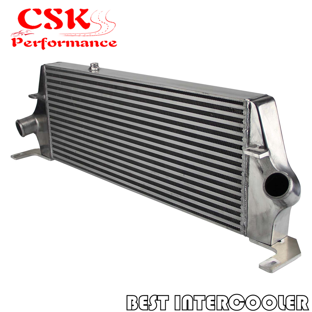 Front mount aluminum intercooler for Ford Focus ST225 Mk2 Gen3 (Generation 3) silver /|aluminum intercooler - title=