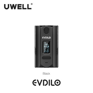 Image 2 - UWELL Evdilo Box Mod 200W Support Dual 18650 20700 21700 Batteries Fast Firing Fit for Valyrian II Tank E cigarette Vape Mod