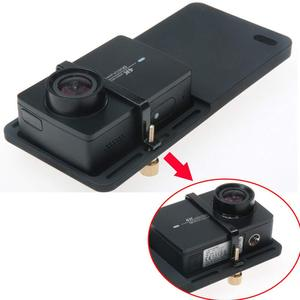Image 3 - Handheld Gimbal Adapter Schalter Platte Montieren für GoPro Hero 7 6 5 Yi 4k Feiyu Zhiyun Stabilisator DJI Osmo action Zubehör Set