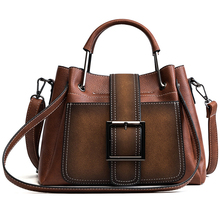 MONNET CAUTHY Autumn New Female Totes Classic Vintage Style Fashion Quality Handbags Solid Color Black Brown Coffee Shoulder Bag