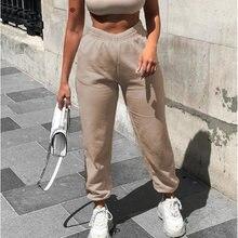 Зимние новые шерстяные хлопковые брюки с высокой талией корейские
