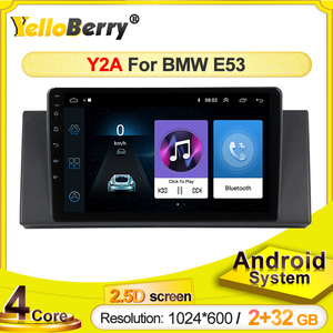 Car GPS Radio player For BMW E53 X5 E39 Android systerm Multimedia 2.5D touch screen video stereo