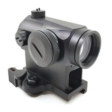 Tactical Dot Sight Mini 1X24 T1 Rifescope Sight Illuminated Sniper Red Green Dot Sight With Quick Re
