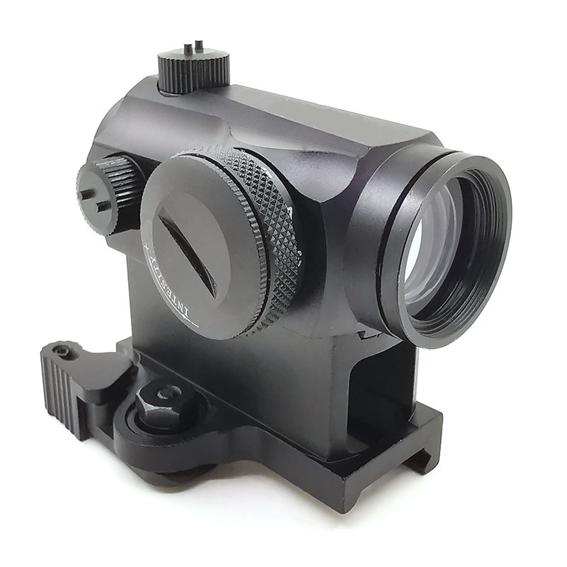 Tactical Dot Sight Mini 1X24 T1 Rifescope Sight Illuminated Sniper Red Green Dot Sight With Quick Release Red Dot Scope image
