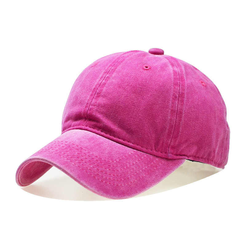 غسلها القطن لون نقي ضوء مجلس الرجال قبعة بيسبول متعدد الألوان اختياري غطاء العظام ، خياطة أبي قبعة