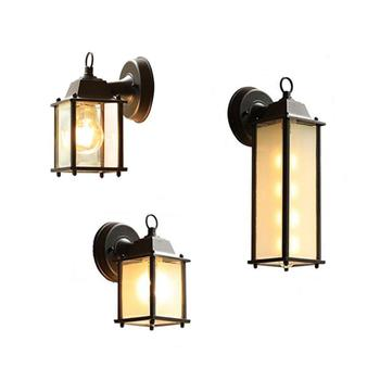 Minimalist E27 Wall lamp,Outdoor Waterproof Wall light,AC90-260V glass Courtyard Garden Porch Corridor Lights retro wall sconces outdoor led wall lamp waterproof ip54 porch lights garden wall lamps aluminum alloy courtyard corridor porch lights ac85 265v