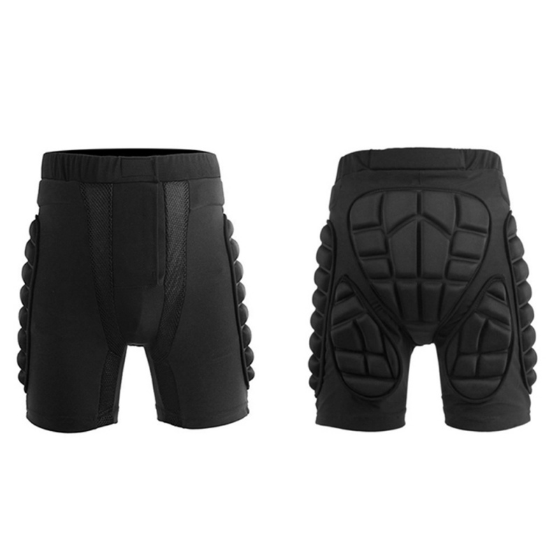 Skiing Skateboarding Shorts Overland Racing Armor Pads Hips Legs Protective Shorts Ride Motorcycle Equipment Hips Padded -