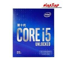 Procesador Intel Core I5 i5-10600KF 10600KF 4,1 GHz, seis núcleos, 12 hilos, 65W, 12M, LGA 1200, nuevo, pero sin enfriador