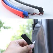 Adesivo anticollisione bordo in gomma tipo H striscia di tenuta porta automatica parabrezza sigillante protezione tronco guarnizioni per finestre adesivi per Auto