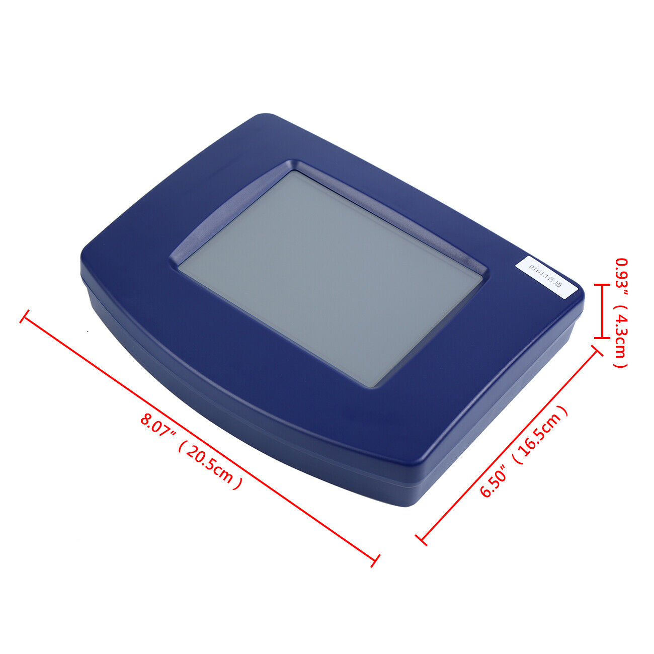 מערכות ניווט Samger Digiprog3 OBD2 DigiprogIII אוטומטי מלא סט Digiprog 3 V4.94 מתכנת מד מרחק קילומטראז הכלי הנכון עם תקע האיחוד האירופי (3)
