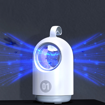 Photocatalyst Mosquito Killer Low Mute Blue Portable USB Electric Household Mosquito Killer Lamp For Smart Home Use